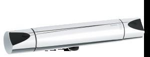 Slate Thermixa 200 Termostatblandare (Krom/Svart)