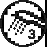 3 Spray Modes