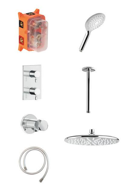HS 2 - Complete concealed shower system
