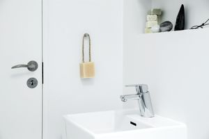 Pine Basin Mixer with pop up waste