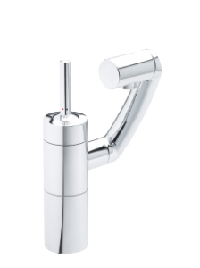 Arc Basin/Bidet Mixer with pop up waste