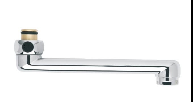 Draaibare uitloop 150 mm