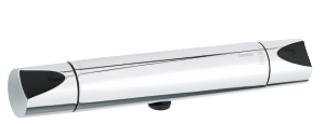 Slate Thermixa 200 termostatarmatur bruser (Krom/Sort)