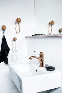 Tradition Håndvaskarmatur (Poleret kobber PVD)
