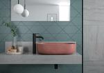 Matsort høj håndvask vandhane fra Damixa Silhouet serien