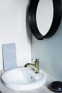 Tradition Håndvaskarmatur (Poleret messing PVD)
