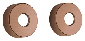 "Shower Accessories Wall Plates 3/4"" (Brushed Copper PVD)"