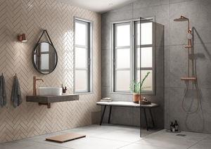 Silhouet Håndvaskarmatur - Large (Børstet Kobber PVD)