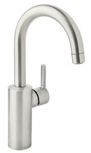Silhouet Håndvaskarmatur med høj tud (Steel PVD)