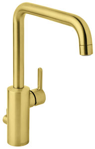 Silhouet Kitchen Mixer with Dishwasher Shut off valve (Brushed Brass PVD)