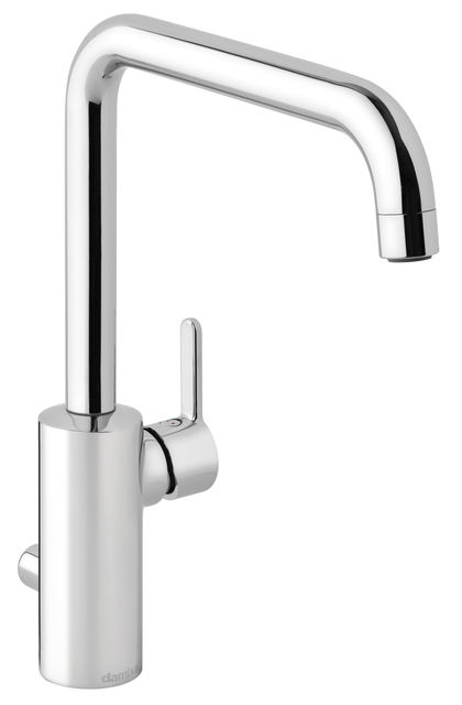 Damixa Silhouet kitchen mixer in chrome