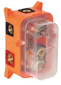 Armatura podtynkowa Skrzynka podtynkowa natryskowej baterii termostatycznej