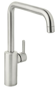 Silhouet Kitchen Mixer (Steel PVD)