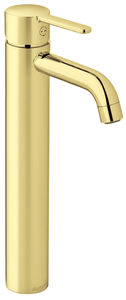 Silhouet Basin Mixer - Large (Polished Brass PVD)