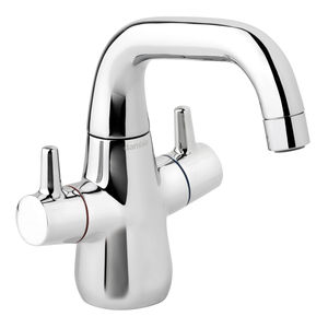 Bell Basin Mixer with pop up waste