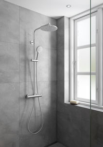 Silhouet Shower System (Steel PVD)