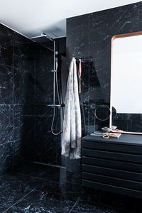 Slate 3 Shower System (Chrome/Black)