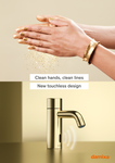 Touchless basin tap