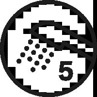 5 Duschfunktioner