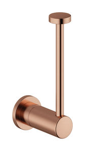 Silhouet Spare Toilet Roll Holder (Brushed Copper PVD)