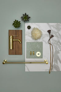 Silhouet Hooks (2 pcs.) (Polished Brass PVD)